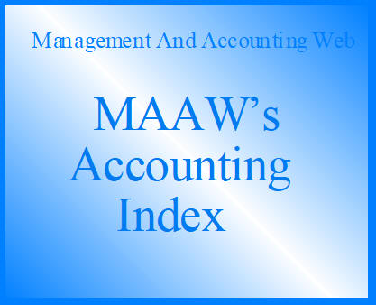 MAAW's Accounting Index G