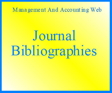 MAAW's Journal Bibliographies