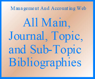 All MAAW's Main, Journal, Topic, and Sub-Topic Bibliographies