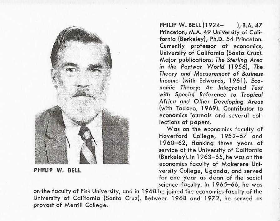 Philip W. Bell