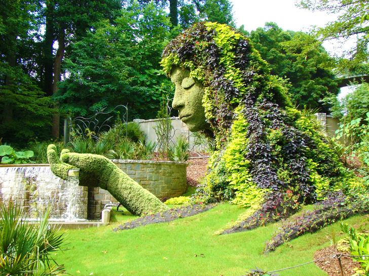 Atlanta Botanical Garden Earth Goddess